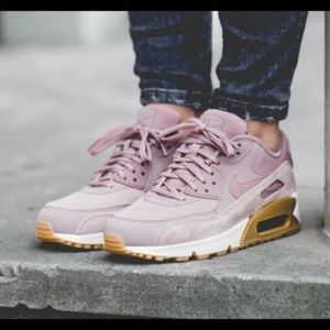 3f3480fff5 NIKE Shoes | Air Max 90lx Mixed Sneaker Particle Rose Gray | Poshmark